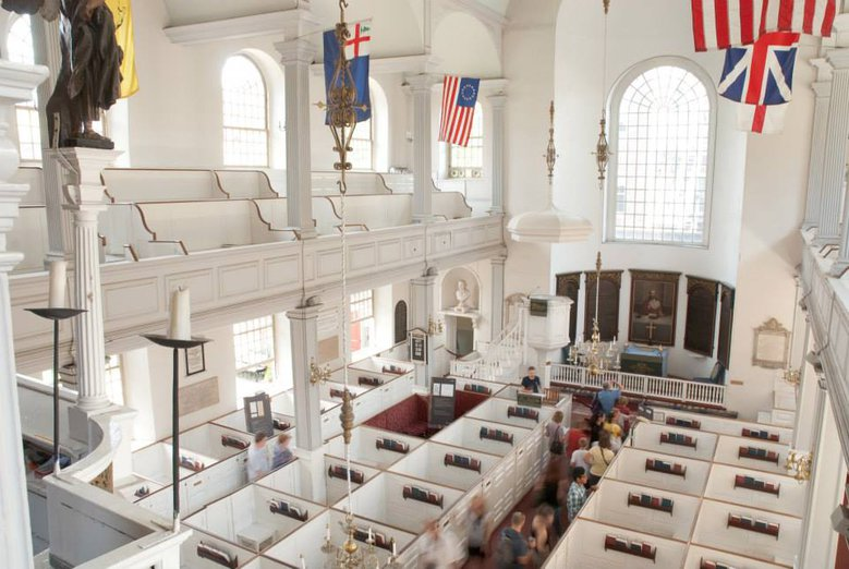 Best Free Things to Do in Boston When Your Kids Say I'm Bored: The Old North Church