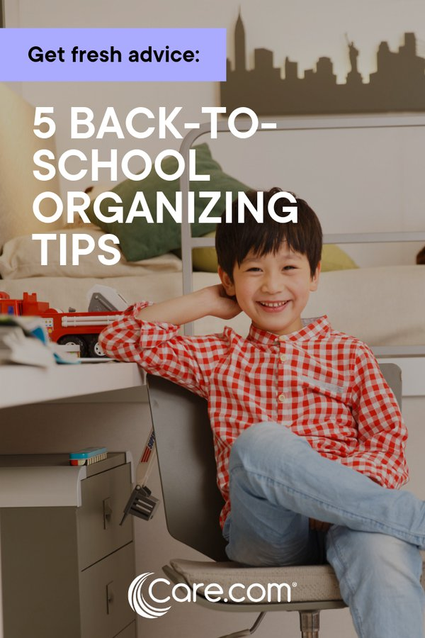 5 back-to-school organizing challenges