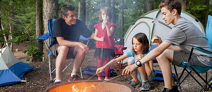 Camping With Kids Poses Many Challenges But Keeping Them Entertained During Downtime Shouldnt Be One Of Whether Youre Roughing It As A Family