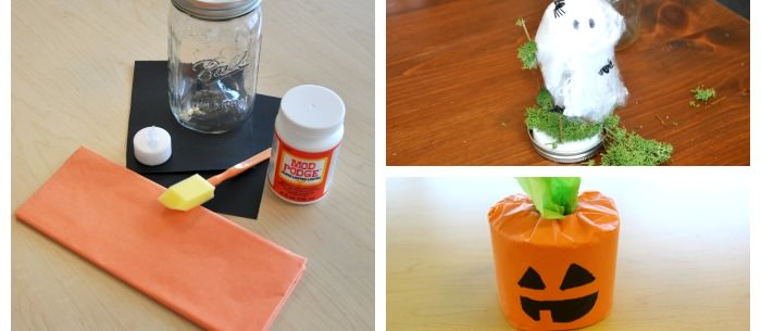 6 diy pinterest halloween crafts for kids carecom community - Diy Halloween Crafts