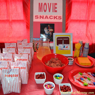 you can also have face masks and other things the girls can use to have spa play time after the movie is over