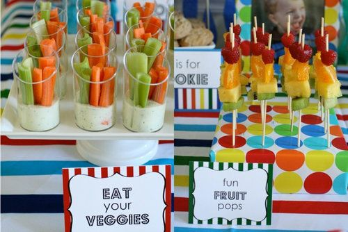 Have A Number Of Finger Foods Out Throughout The Party That Kids Can Snack On These Be Fruits And Veggies Or Things Like Pretzels